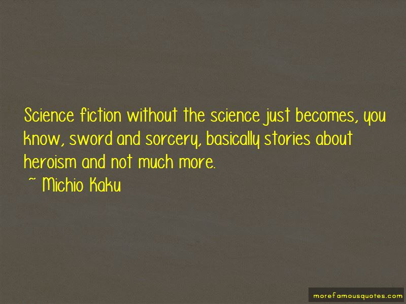 Sword And Sorcery Quotes
