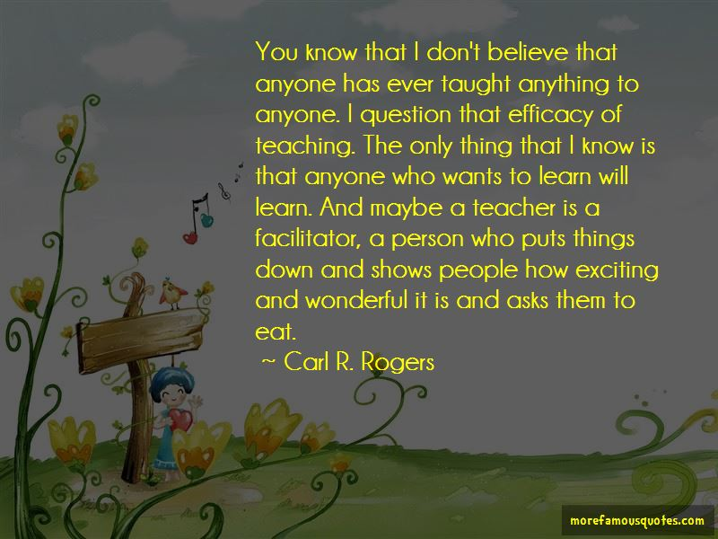 Teacher As Facilitator Quotes