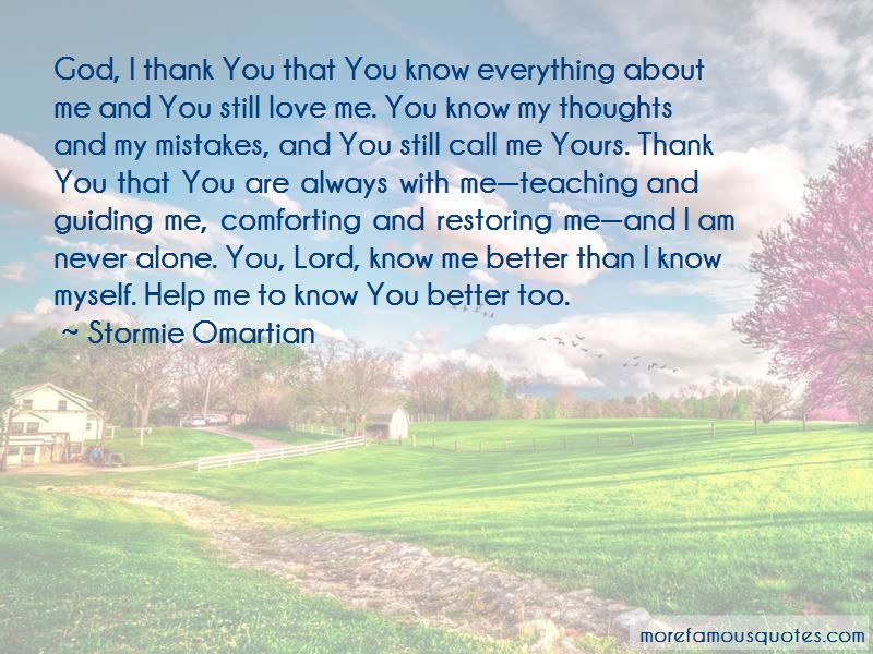 Thank You Lord God For Everything Quotes: Top 1 Quotes