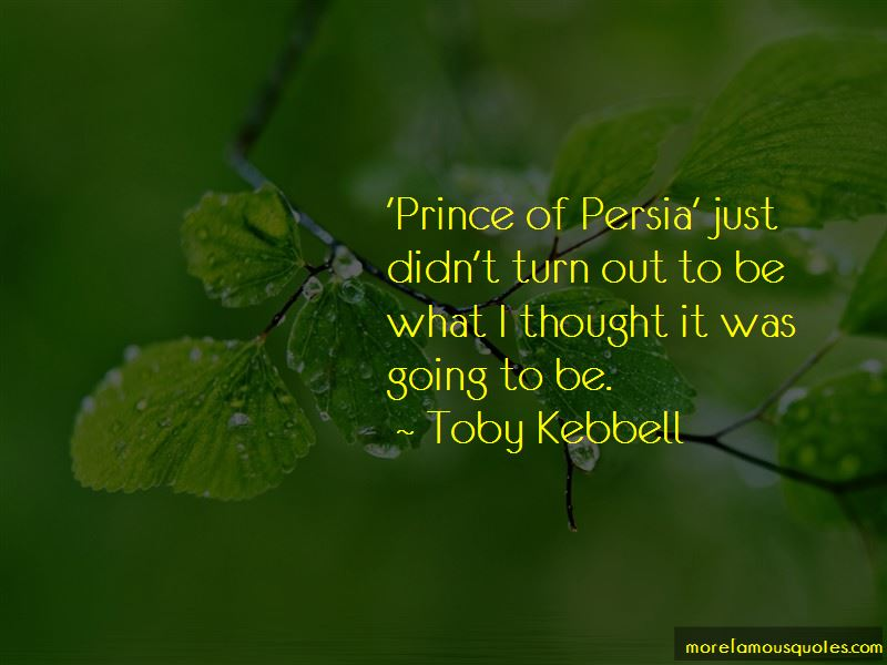 The Prince Of Persia Quotes