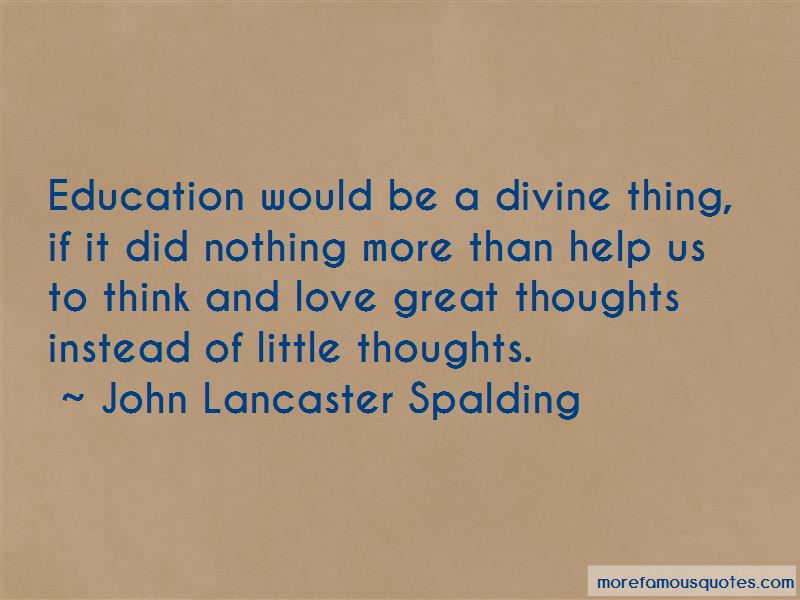 Think And Love Quotes