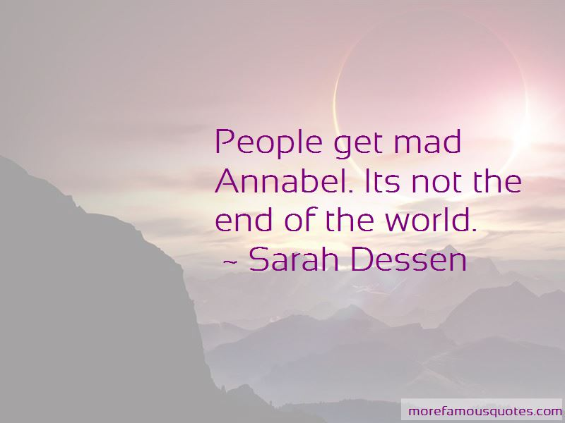 This Is Not The End Of The World Quotes Pictures 4