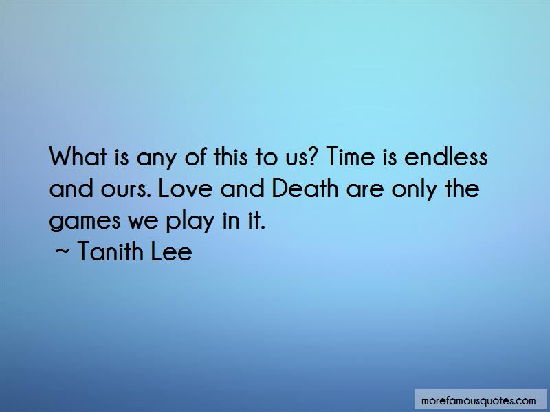Time Is Endless Quotes
