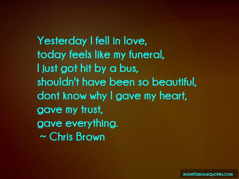 Today I Fell In Love Quotes Pictures 4