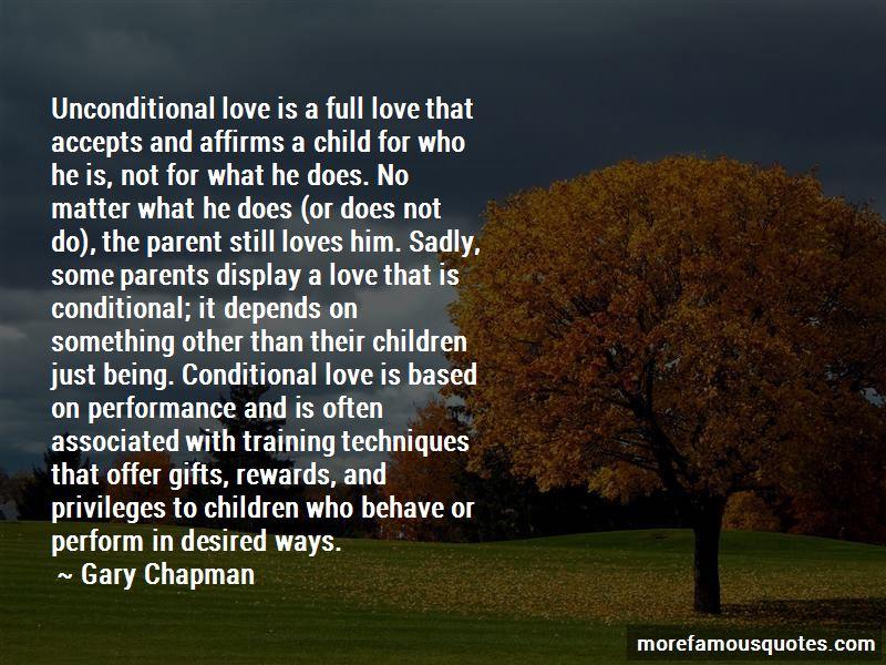 Unconditional Parent Love Quotes