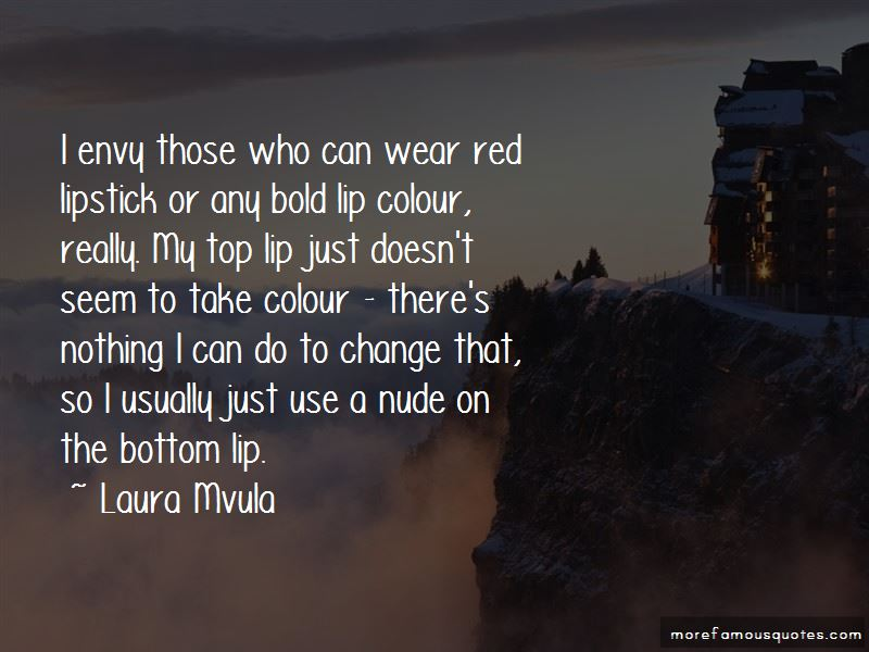 Wear Red Lipstick Quotes Pictures 2