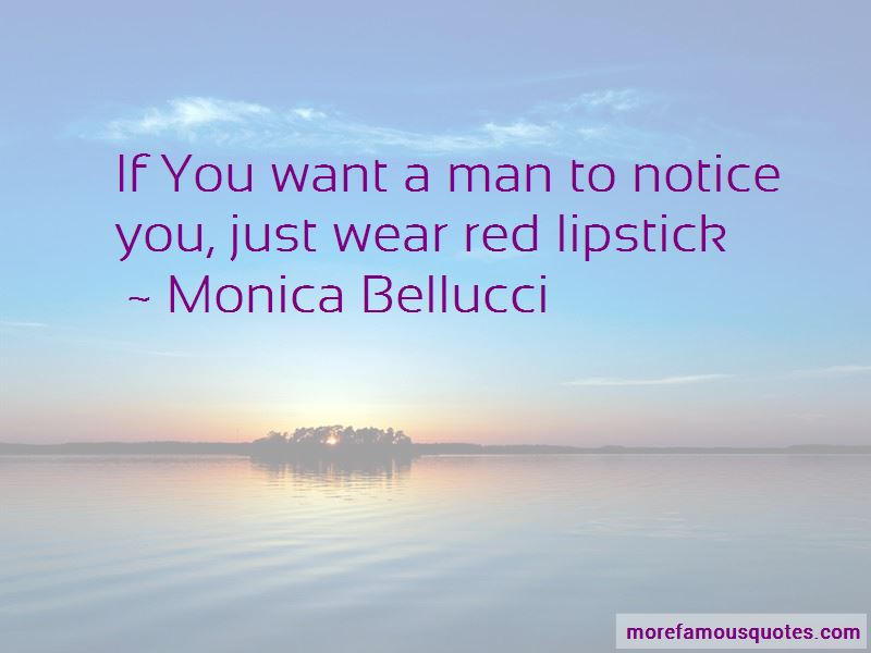 Wear Red Lipstick Quotes