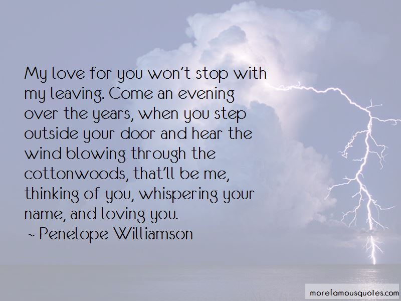 Whispering Your Name Quotes