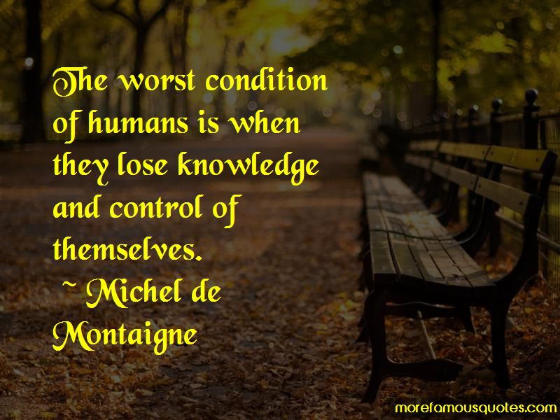 Worst Condition Quotes