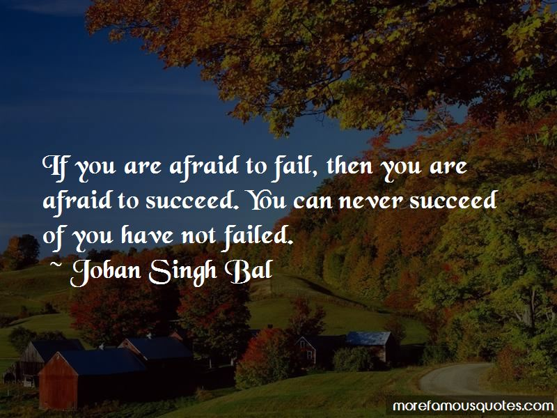 You Have Not Failed Quotes