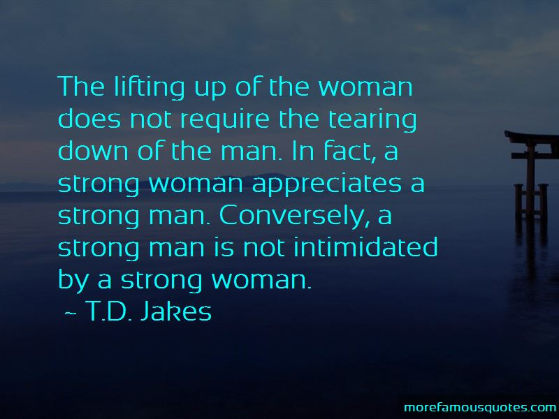 A Strong Man Is Quotes: top 52 quotes about A Strong Man Is ...