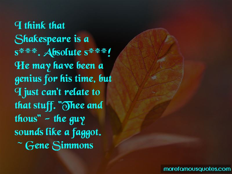 Absolute Shakespeare Quotes