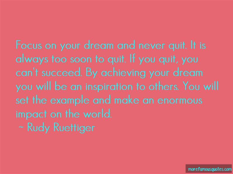 Achieving The Dream Quotes Pictures 3