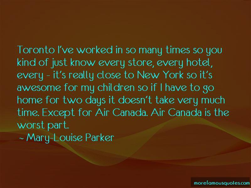 Air Canada Quotes