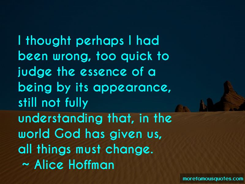 All Things Must Change Quotes