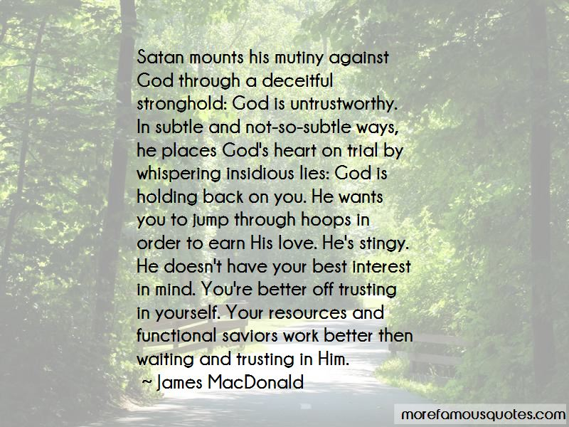 Back Off Satan Quotes Pictures 2