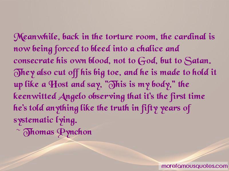 Back Off Satan Quotes