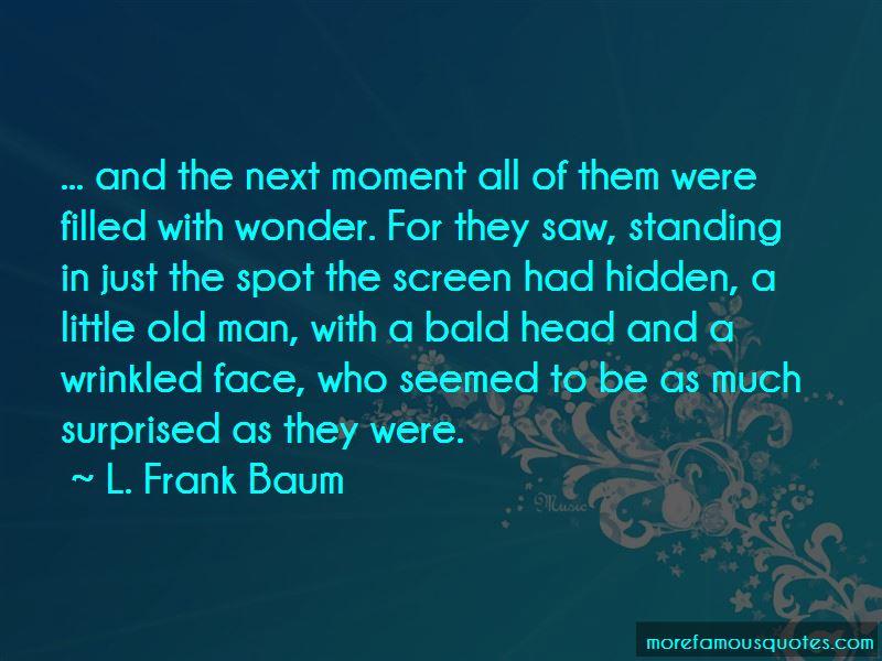Bald Head Man Quotes