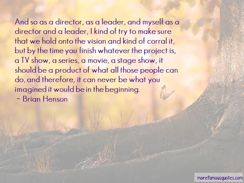 Beginning Movie Quotes