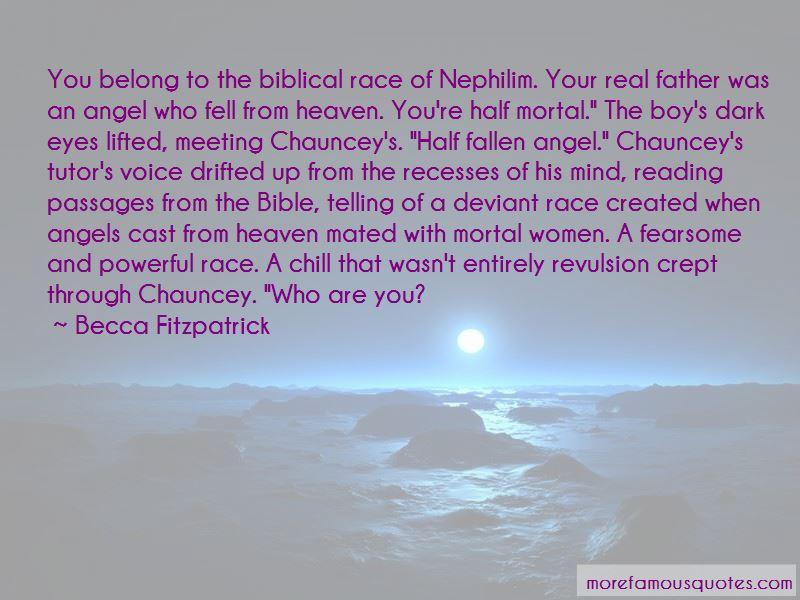 Bible Fallen Angel Quotes