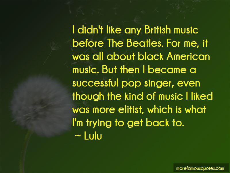 Black Beatles Quotes