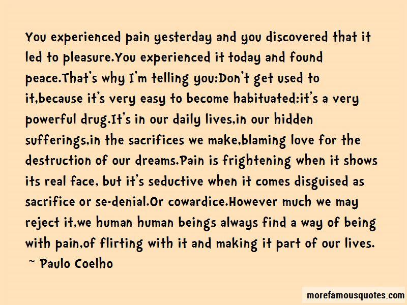 Blaming Love Quotes
