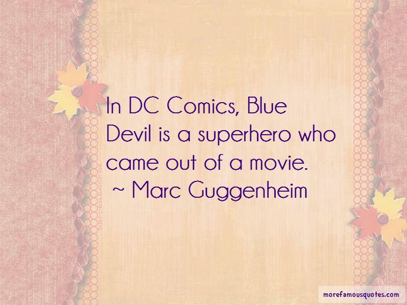 Blue Devil Quotes