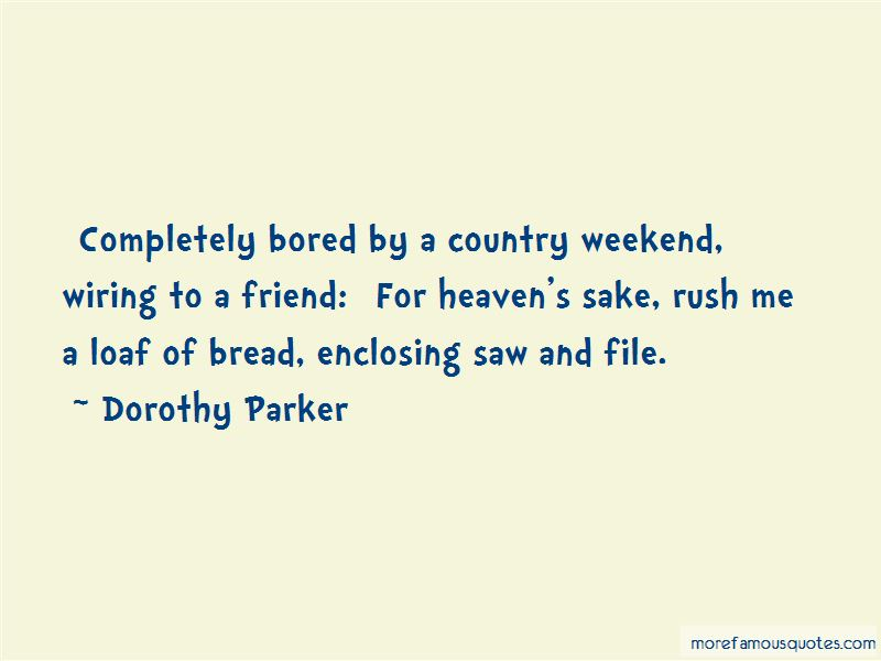 Bored Weekend Quotes