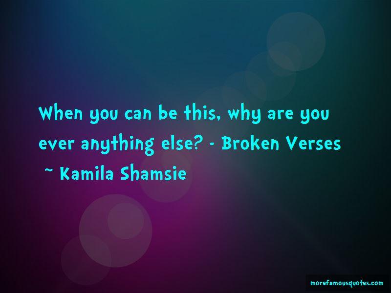 Broken Verses Quotes