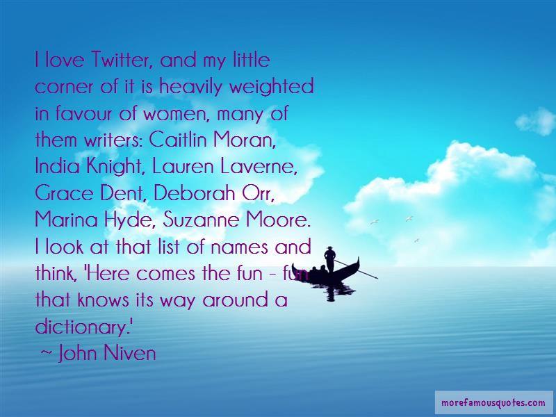 Caitlin Moran Love Quotes