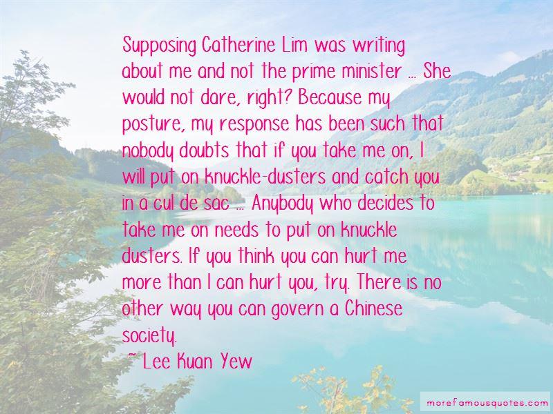 Catherine Lim Quotes