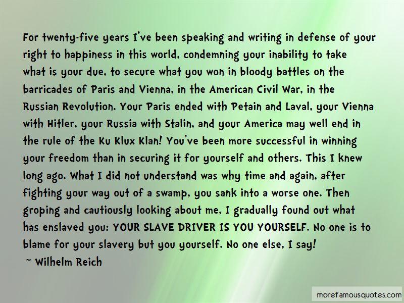 Civil War Freedom Quotes