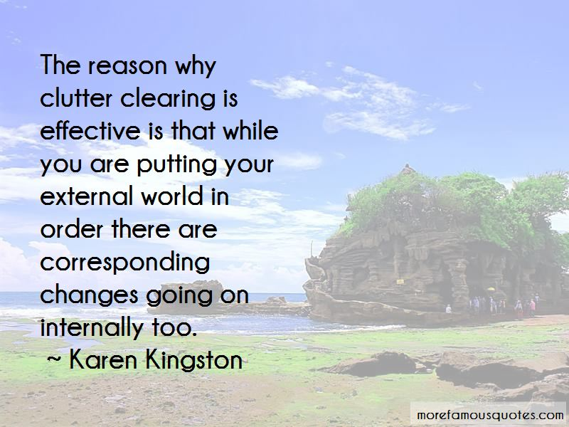 Clutter Clearing Quotes