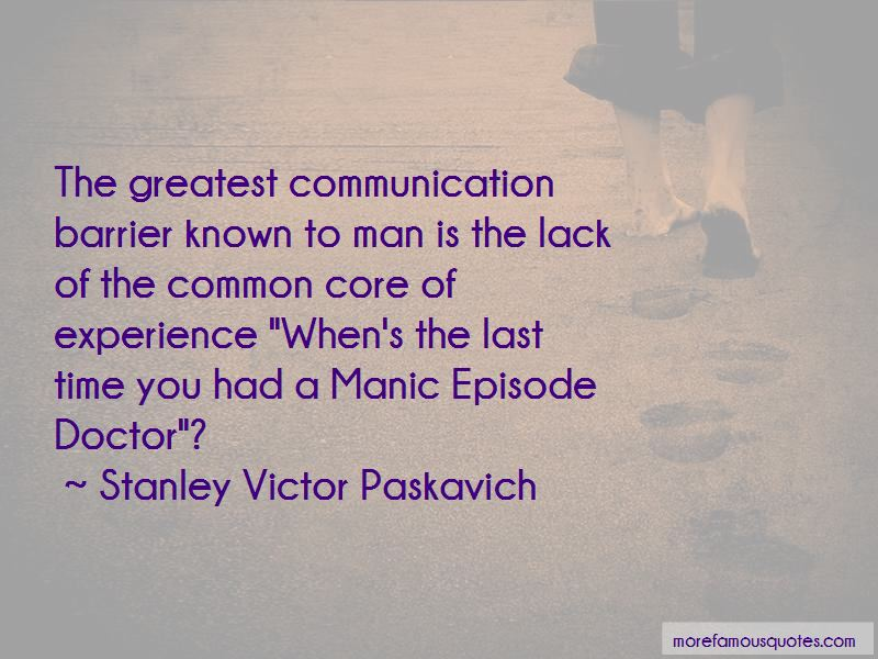 Communication Barrier Quotes