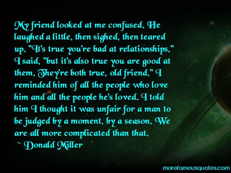 Complicated But True Love Quotes