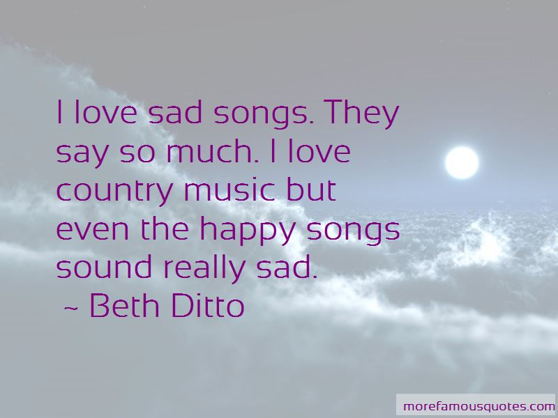 Country Songs About Love Quotes