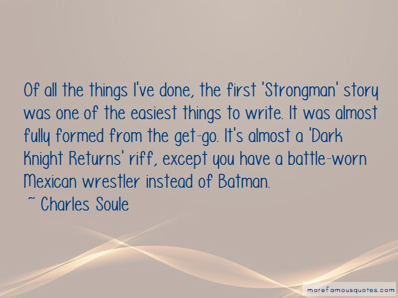 Dark Knight Returns Quotes