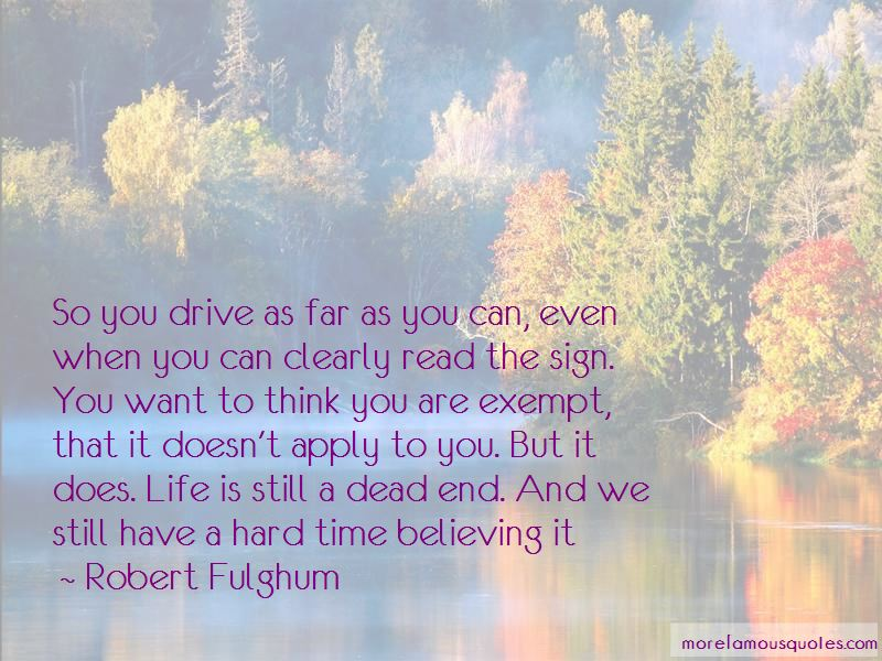 Dead End Life Quotes Pictures 2