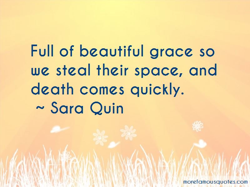 Death Comes Quickly Quotes