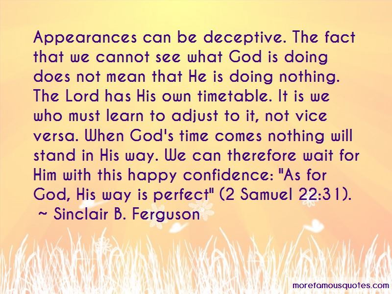 Deceptive Appearances Quotes