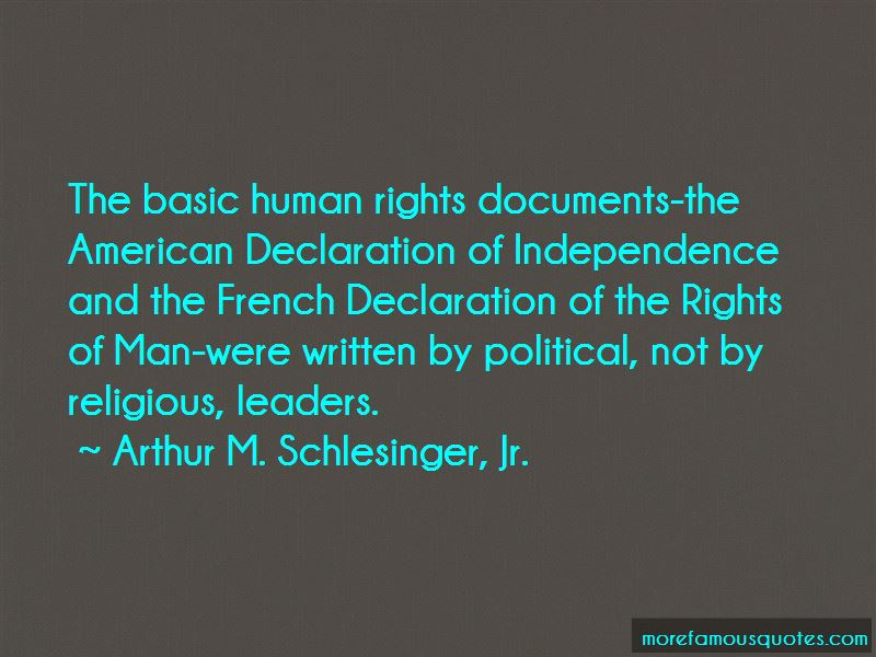 Declaration Of Independence Human Rights Quotes