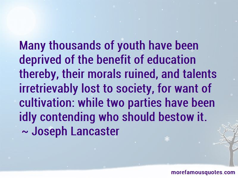Deprived Education Quotes Pictures 2
