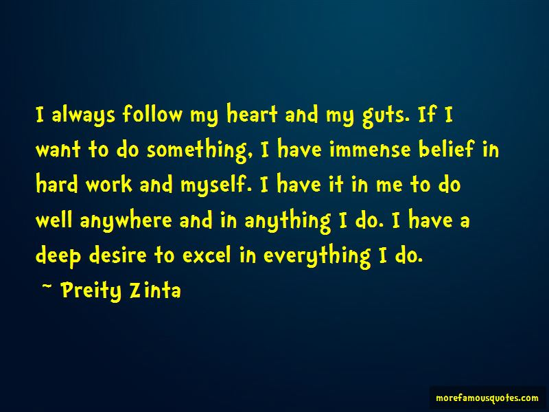Desire To Excel Quotes