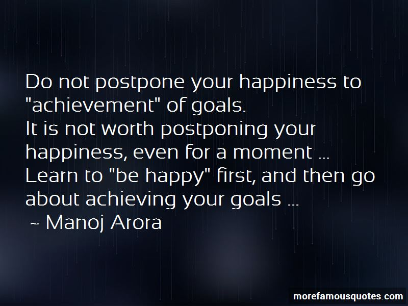Do Not Postpone Quotes