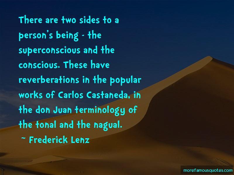 Don Juan Carlos Castaneda Quotes