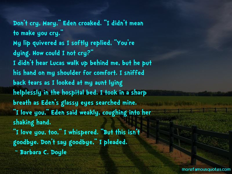 Don't Say Goodbye Quotes Pictures 3