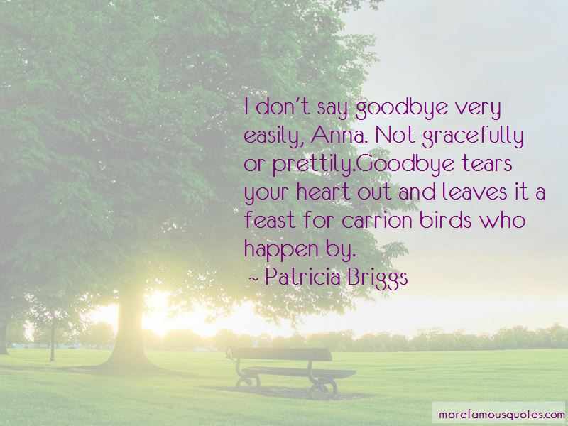Don't Say Goodbye Quotes