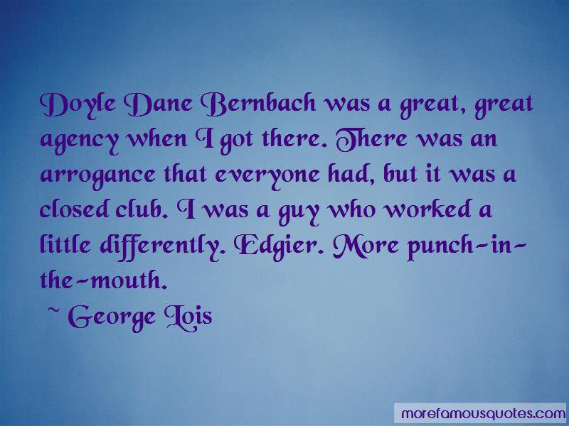 Doyle Dane Bernbach Quotes