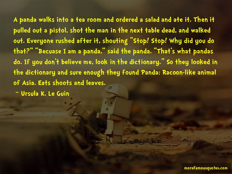 Eats Shoots And Leaves Quotes