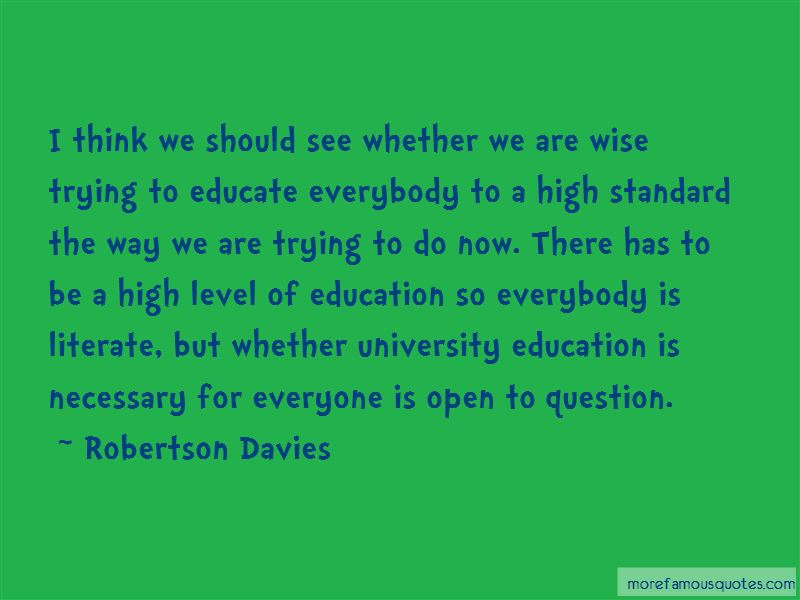Education Is Necessary Quotes